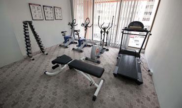 Gaya-centre-hotel-gym-room-kota-kinabalu-sabah